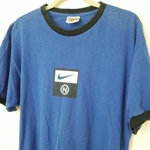 Vintage NIKE Made in USA Ringer T Shirt Tee Mens L